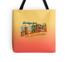 Greetings from Florida, The Land of Sunshine Tote Bag