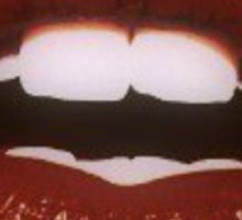 Lippy goldbloom Sticker