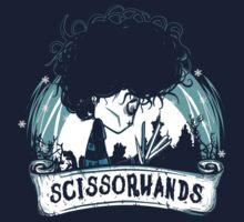 Scissorhands by Donnie Illustration