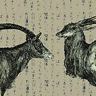 Oxen by Damian