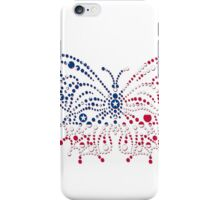 American Patriotic Dots Butterfly Flag iPod / iPhone 4  / iPhone 5  Case / Samsung Galaxy Cases / Pillow / Tote Bag / Duvet / Prints  iPhone Case/Skin