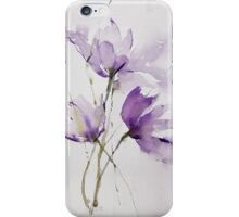 wilted tulips iPhone Case/Skin