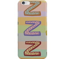 zzzzzz iPhone Case/Skin