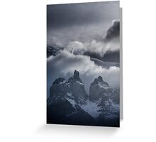Torres del Paine Greeting Card