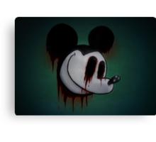 Suicide Mouse Canvas Print