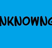 TheUnknownGavin black on blue cases by TheUnknownGavin