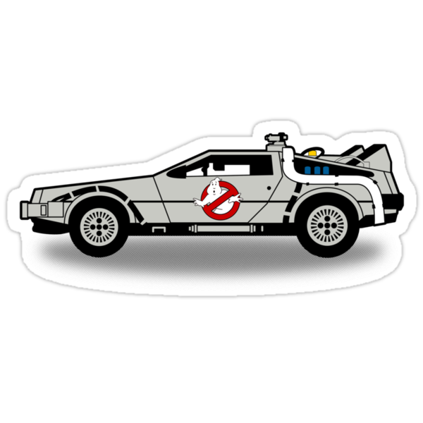 Ghostbusters To The Future! by robotrobotROBOT