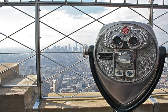 Empire State Binoculars by Andrew Connor Smith