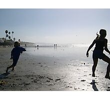 beach play (caffeine free) Photographic Print