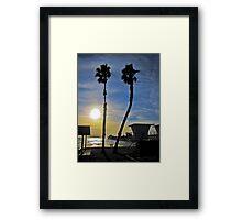 ocean duet Framed Print