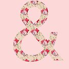 Floral Ampersand by ohsotorix3