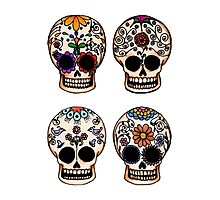 Sugar Skull Set Photographic Print