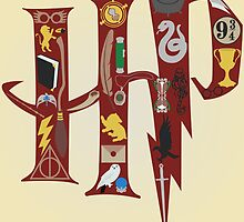 Harry Potter Collage by realGabe