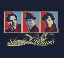 Sherlock Trilogy - X3 Red/Blue Kids Clothes