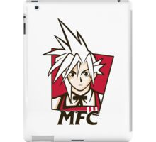 t shirt Midgar Fried Chocobo KFC MFC Cloud Strife final fantasy 7 VII iPad Case/Skin