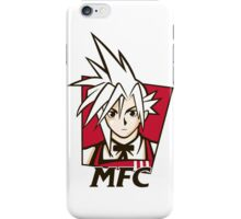 t shirt Midgar Fried Chocobo KFC MFC Cloud Strife final fantasy 7 VII iPhone Case/Skin