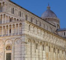 Piazza dei Miracoli, Pisa Sticker