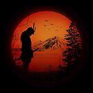 My Love Japan / Samurai warrior / Ninja / Katana by badbugs
