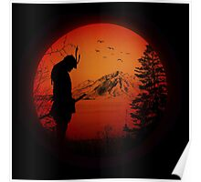 My Love Japan / Samurai warrior / Ninja / Katana Poster