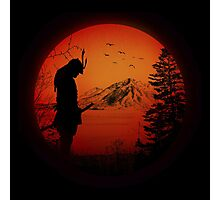 My Love Japan / Samurai warrior / Ninja / Katana Photographic Print