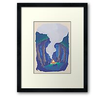 CT : Calm Night (23 left) Framed Print