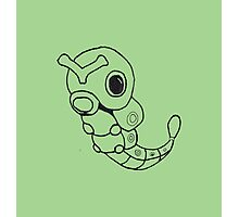 Caterpie Sketch Photographic Print
