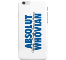 Absolut Whovian iPhone Case/Skin