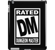 Rated DM for Dungeon Master iPad Case/Skin
