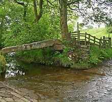 Clam Bridge, Wycoller by RedHillDigital