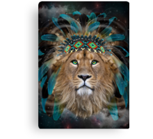 Fight For What You Love (Chief of Dreams: Lion)  Canvas Print