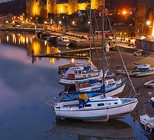 Boats & Castle by TomGreenPhotos