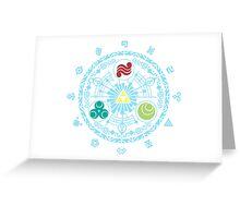 Gate of Time Greeting Card