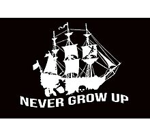 Peter Pan - Never grow up Photographic Print