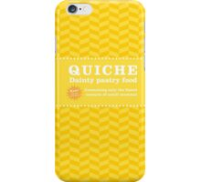 Monsters can eat quiche iPhone Case/Skin