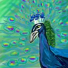 Peacock by Alison Pearce
