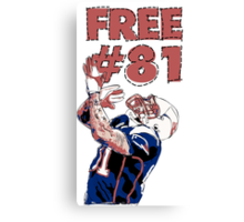FREE #81 HERNANDEZ  Canvas Print