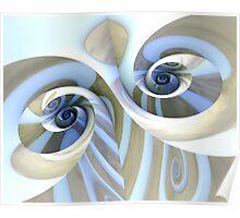 Multi-Swirl Poster