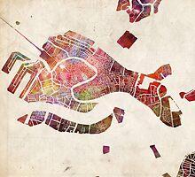 Venice map by MapMapMaps