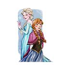 Arendelle's sisters by Jess-P