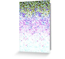Glitter Dust Background Greeting Card