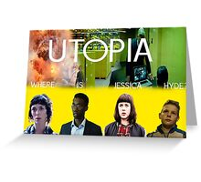 The Utopia Poster Greeting Card