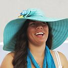 Lady Loves Her New Hat!  by heatherfriedman