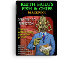 Keith Hulu's Fish & Chips Canvas Print