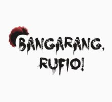 Bangarang Rufio Kids Clothes
