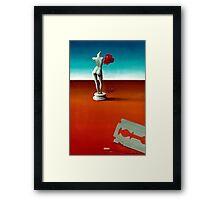 """""""Razor and Rose"""" 1976 Framed Print"""