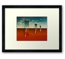 """GOOD MORNNG"" 1975 Framed Print"