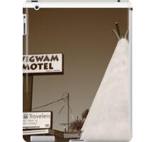 Route 66 - Wigwam Motel iPad Case/Skin