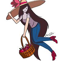 Marceline with Big Floppy Hat by magicalasian