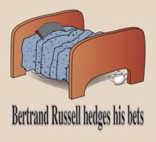 Bertrand Russell hedges his bets by pokingstick