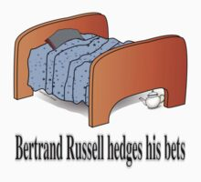 Bertrand Russell hedges his bets Kids Clothes